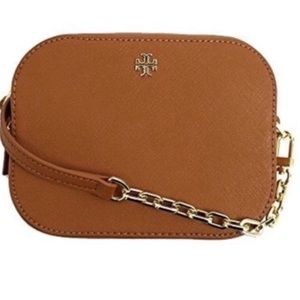 New Authentic Tory Burch Emerson Round Crossbody